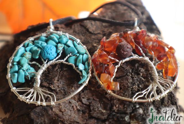 Bijuterii aromaterapie Copacelul Fericirii