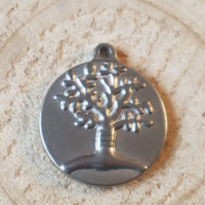 Copacul vietii pandantiv inox model 2
