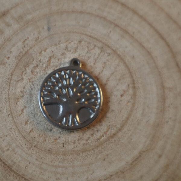 Copacul vietii medalion inox