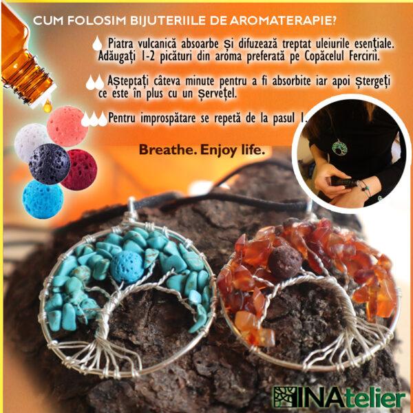 Cum folosim bijuteriile de aromaterapie