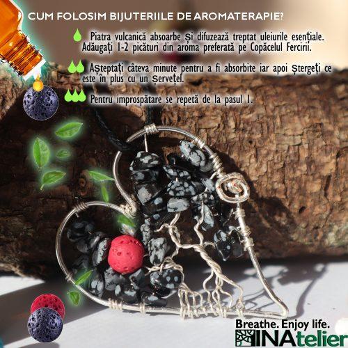 Cum folosim bijuteriile de aromaterapie?