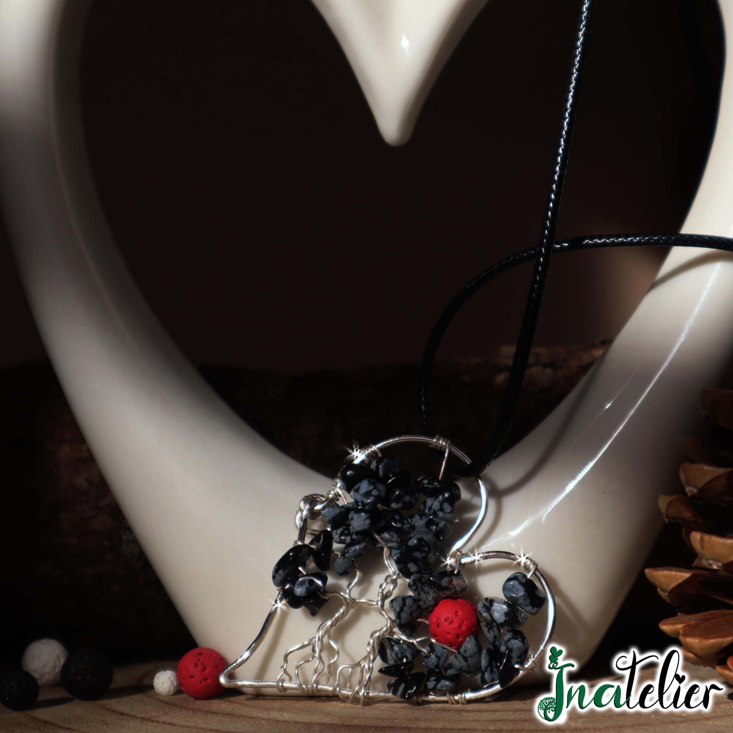 """Medalion aromaterapie uleiuri esentiale """"Inima Parfumata"""""""