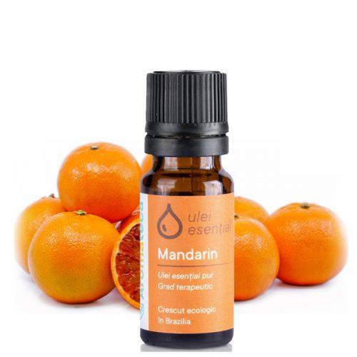 Ulei esențial de mandarina rosie pur crescut ecologic 10 ml